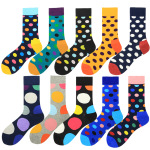 Specifically For Socks In Tube Socks Cotton Socks Wholesale Color Big Wave Point Dot for Men - 2004-5 Ouma 39-46