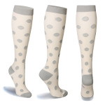 20 Pairs Sports Elastic Compression Socks Nurse Leggings Long-barreled Running Compression Stockings - Puzzle S / M
