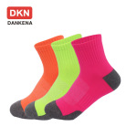 DANKENA Men's Socks Basketball Nylon High-elastic Fluorescent Color Breathable Mesh New Winter Sports Socks - Female S Code In Another Link 40-45 EU