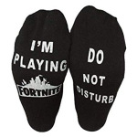 If You Can Read This Casual Letters Gamer Cotton Socks AB Sock Mismatched Socks Words Socks Novelty Socks - White One Size