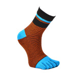6 Pairs / Boxed Toe Socks - 6 Pairs One Size