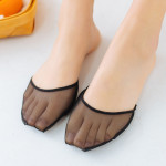 Cool Summer Open-toed Socks Female Invisible Socks Half Cushion Two Sets Of Fingers And Toes Padded Palm Front Half Sets Of Socks Absorb Sweat Slip - Finger Color One Size