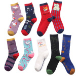 Creative Stockings Female Spring And Summer Cotton Socks Men's In Tube Sock Slide Ins Personality Autumn And Winter Socks - Miss Meow One Size