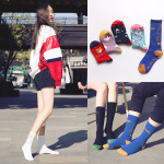 Creative Stockings Female Spring And Summer Cotton Socks Men's In Tube Sock Slide Ins Personality Autumn And Winter Socks - I'm Your Little Dependence One Size