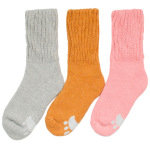 Winter Socks Female Socks Thick Warm Wool Socks Conductive Heat Plus Velvet Thick Terry Socks Thick Socks Male Wholesale Fluffy Fuzzy Socks - Light Gray Female Models One Size