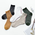 Stockings Children Glass Spring Summer Line Silk Twill Ultra-thin Breathable Socks Jacquard Stockings Ankle Stockings - White One Size