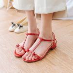 Towel Bottom Two-finger Socks Female Ultra-shallow Mouth Invisible Socks Half Palm Heels Mat Non-slip Sock - Color One Size