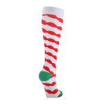 Christmas Compression Socks Outdoor Riding Running Quick Dry Breathable Sports Socks Boots Comression Scoks for Travel - A Section S / M