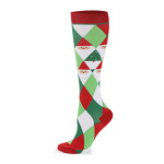 Christmas Compression Socks Off-road Riding Running Quick Dry Breathable Outdoor Sports Socks Boots Comression Scoks - A Section S / M