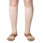 Compression Socks Off-road Riding Running Quick Dry Breathable Outdoor Sports Socks For Adults Trainer Socks - White S / M