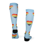Men Women Compression Sock Running Quick Dry Outdoor Riding Breathable Adult Sports Socks Trainer Socks - A Section L / XL