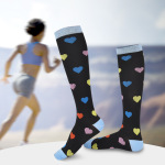 Leggings Long-barreled Compression Socks Outdoor Sports Socks Running Socks Trainer Socks - Yellow One Size