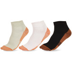 Men Casual Sports Socks Spring Autumn Winter Spell Color Breathable Socks Non Ship Compression Socks - Black One Size