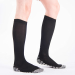 Over the Knee Men Compression Stockings High Elastic Collision Anti-friction Compression Socks for Varicose Veins - Duplex EU 35-40