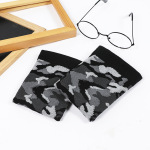 New Autumn Winter Retro Camouflage Spell Color Men Calf Sleeve Men Socks Compression Socks - Camouflage One Size