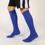 Striped Knee High Basketball Compression Socks Spring Winter Sports Stockings Breathable Absorbent Socks - White XL