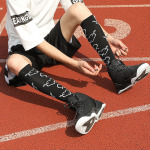 Varicose Veins Compression Socks Men Women Fall Winter Calf Socks Socks Sports Leisure Compression Stockings for Travel - Multicolor XO SM