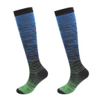 Ski Compression Socks Gradient Compression Hosiery Comfortable Breathable Pressure Stockings - 1 S / M