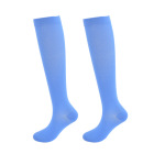 Footless Leg Sleeve Knee High Basketball Compression Socks Gradient Compression Hosiery Breathable Pressure Socks for Varicose Veins - 4 S / M