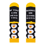 Men's Socks If You Can Read This Bring Me Burger Novelty Socks - Hot Dog 39-46
