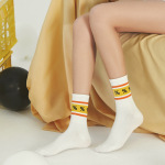 Creative Symbols Socks Couple Socks Wild Personality Cotton Men Women Socks - 4 36-42