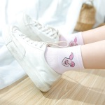 Japanese Cotton Socks Female Meters From Its In-tube Socks Cute Cartoon Socks Sports Socks For Men And Women - Black - Steven You Can Hang