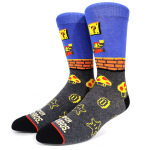 Pac Man Personalized Cartoon Gaming Partterned Socks Cotton Crew Sports Socks - Pac-Man 1