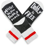 Master Has Given Dobby A Socks Dobby Is Free Novelty Socks - White + Black One Size