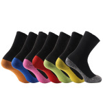 Silver Silk Socks 35 Degree Centigrade Warm Socks Men Women Winter Outdoor Warmer Socks - Orange S / M